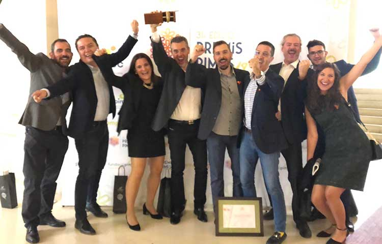 Voxel Group earns the 'most competitive SME' in the SME 2018 awards granted by PIMEC