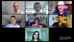 Imagen de la sesión de la OPA celebrada el pasado 28 de mayo en el marco del baVel Digital Summit.